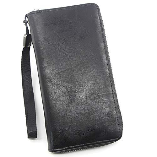 DUKAILIN Wallet Cellphone Wallet Men'S Clutch Wallets Men Credit Card Holderpu Style Leather Male Long Purse Zip