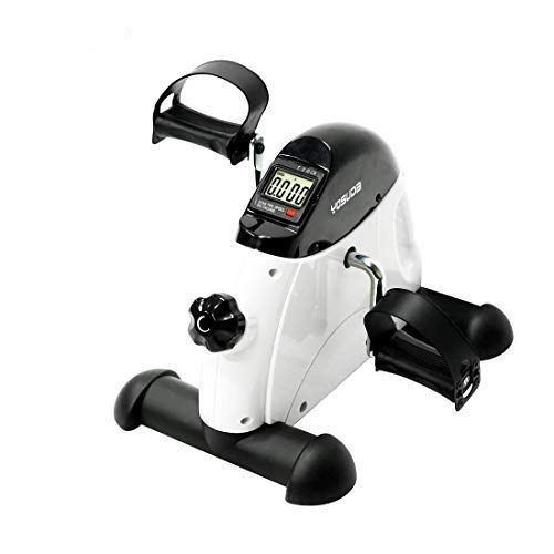YOSUDA Under Desk Bike Pedal Exerciser - Mini Cycle Exercise Bike for Leg/Arm Pedder Portable