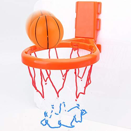 MARXIAO Bad-Spielzeug-Basketballkorb & Ball Spielset, Mit 1 Kugel Badezimmer Slam Badewanne Schießen Spiel Gadget Für Kind-Mädchen-Geschenk