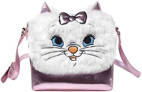 Bioworld Disney The Aristocats Marie Shaped Shoulder Bag with Shoulder Strap Koffer 24 Centimeters 5 Pink