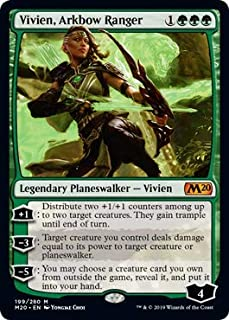 Magic: The Gathering - Vivien, Arkbow Ranger - Core Set 2020