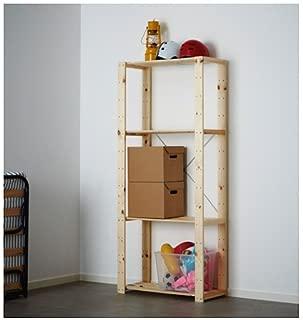 Ikea HEJNE Shelf unit, softwood