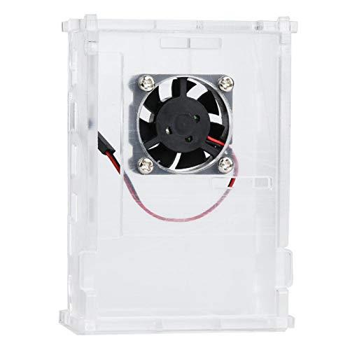 Wärmeableitung ungiftiges Gehäuse Umweltfreundliches Acryl für Raspberry Pi 4
