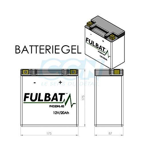 Fulbat FHD20HL-BS ; FHD20HLBS ; ETX20L ; YHD...