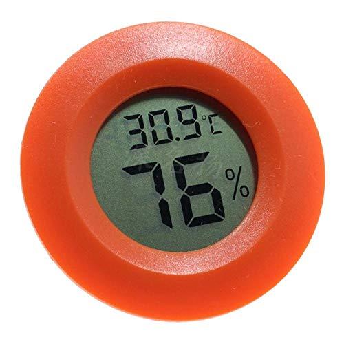FLAMEER Igrometro Di Umidità Del Termometro Digitale Per I Vivari Del Serbatoio Dei Rettili - Rosso