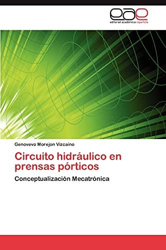 Circuito hidráulico en prensas pórticos: Conceptualización Mecatrónica