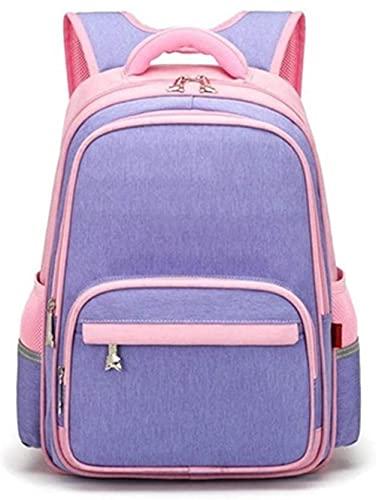 Moda Schoolbag Backpack Niños Bookbag Bolsa de viaje al aire libre para la escuela secundaria Primaria Daypack Girls Boys School Mochila Bolsas y bolsas de las niñas y bolsas de hombro-29x14x38cm