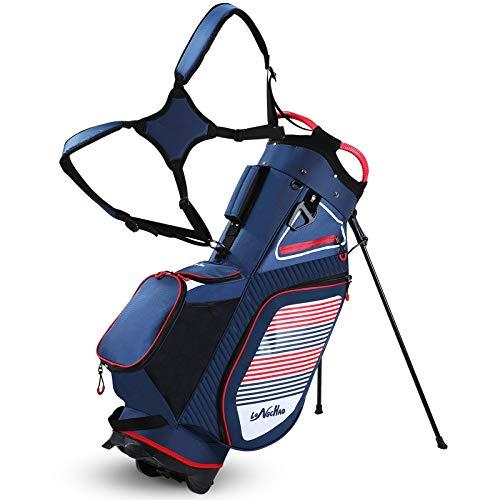 Golf Stand Bag for Men Navy 14 Way Divider