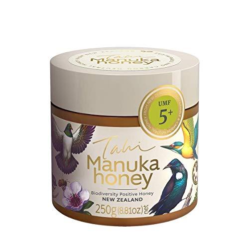 Tahi Miel de Manuka UMF 5+ (MGO 83) Manuka Honey, 250g: Premium, sustainable and 100% natural raw New Zealand honey
