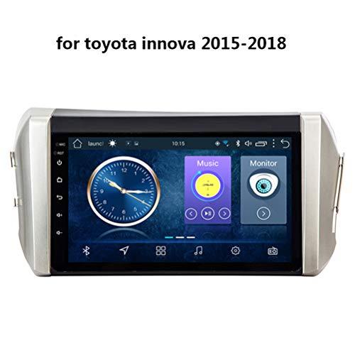Autostereo Android 8.1 Auto Navigation armaturenbrett System, für Toyota innova 2015-2018, 9 Inch Unterstützt Bluetooth CD WiFi Auto USB Lenkradsteuerung,4G WiFi:1+16G