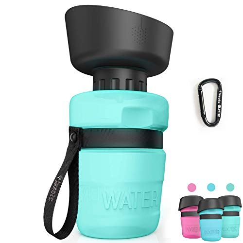 lesotc Pet Water Bottle for Dogs...