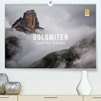 Dolomiten - Land der Traeume (Premium, hochwertiger DIN A2 Wandkalender 2022, Kunstdruck in Hochglanz): Die Essenz der Dolomiten (Monatskalender, 14 Seiten )