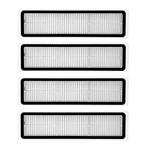 Odashen 4 Pack Hepa Filters for Xiaomi Dreame D9 Robot Vacuum Cleaner Accessories