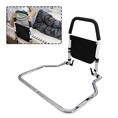 LHNLY-Handlauf Einstellbar Aufstehhilfe Bettgalgen Bettgeländer - Safety Bettgitter für Erwachsene senioren Bettaufstehhilfe Sicherheit Am Betthilfsgitter befestigen Haltegriff