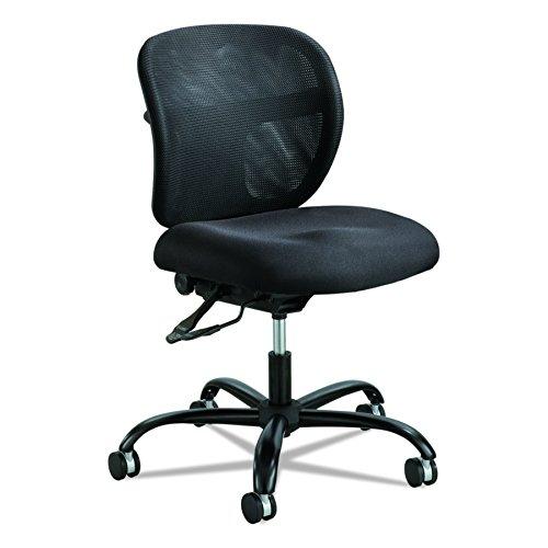 Safco Products Vue Intensive-Use Bürostuhl, Textil, schwarz, Mid-Back