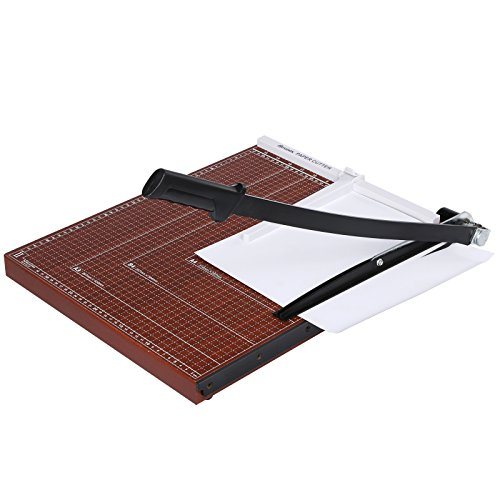 "Fashine Wood 18""x15"" Paper Trimmer A2-B7 Guillotine Paper Cutter For Home Office-US Stock"