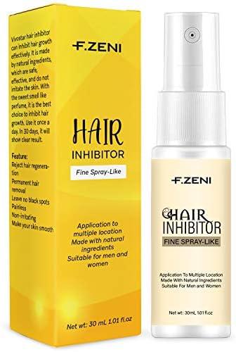 Hair Inhibitor Facial Hair Stop Growth Spray Non Irritating Painless Hair Removal Inhibitor product image