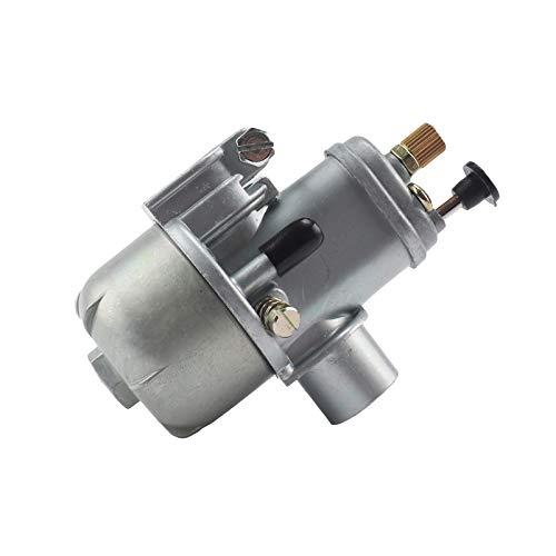 liutao Carburador 15 mm carburador Compatible con Puch Moped Bing Style Carb Compatible con Stock Maxi Sport Compatible con Luxe Newport Cobra Carburettor Partes del Motor
