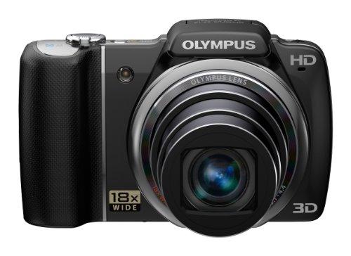 Olympus Sz-10 - cámara digital - 3D - compacta - 14.0 mpix - zoom óptico: 18 x - memoria soportada: sd, sdxc, sdhc - negro