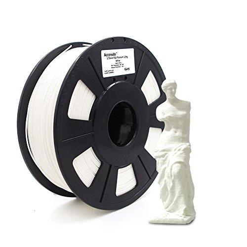 Weistek 1.75mm PLA Filament, 3D Printer Filament, Dimensional Accuracy +/- 0.03 mm, 2.2 LBS(1 KG) Spool, Filament for 3D Printers,
