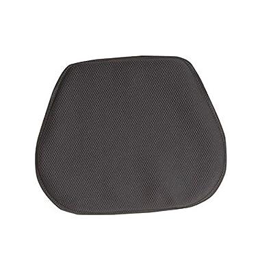 Speedmetal Gel Comfort Universal Fit Cushion Adventure Sport Touring Cruiser V-Twin Street Bike Motorcycle Seat Pad - Black LG