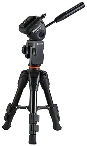 Vanguard ESPOD CX 1 OS - Trípode de Mesa con rótula de Pinza, Color Negro