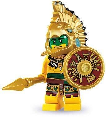 LEGO 8831 - Figura de Aztec Warrior de la serie 7