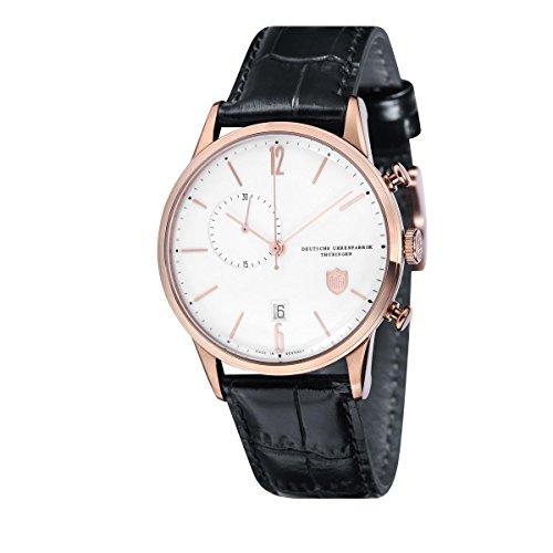 Dufa Deutsche Uhrenfabrik Orologio Cronografo Quarzo Unisex con Cinturino in Pelle DF-9012-04