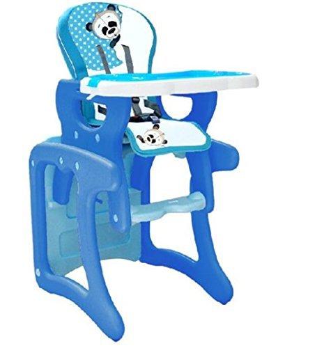 Trona para bebé convertible en mesa y silla