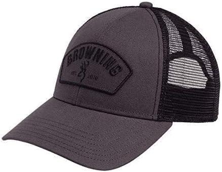Browning 308610891 Cap, Deputy Gray, Multi