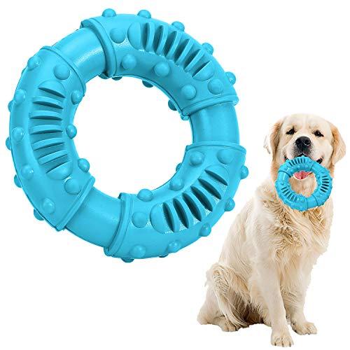 Kauspielzeug für Hunde,Hund Zahnpflege Spielzeug,Naturkautschuk Spielzeug,Hundespielzeug Unzerstörbar,Robust Tauziehen Kauspielzeug für große, mittelgroße Hunde