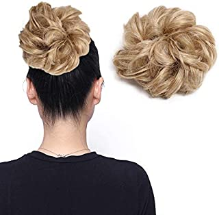 Updo Hairpiece Curly Messy Hair Bun Extensions Donut Chignons Hair Extension Hair