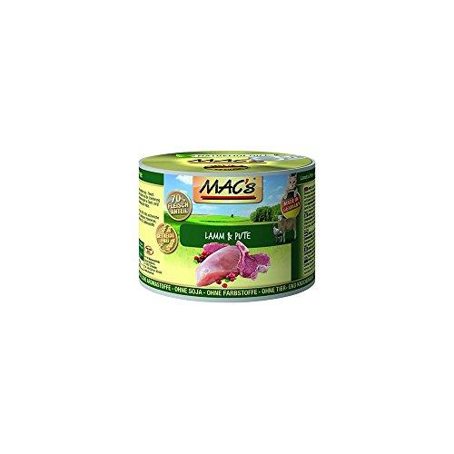 Mac's Katzenfutter getreidefrei Lamm & Pute, 800 g