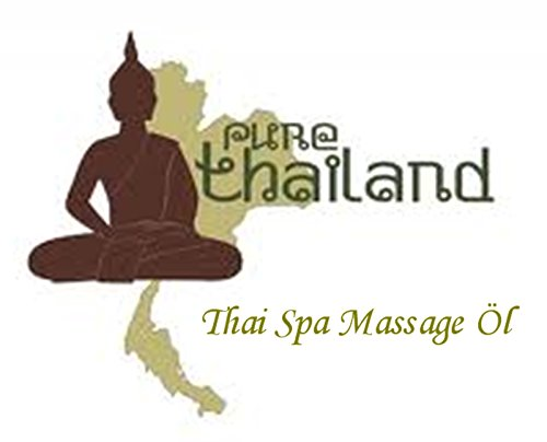 Thai Spa Massage Öl - 100ml - Massageöl aus Thailand - Thaimassageöl