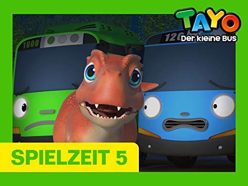 Tayo Spielzeit 5 - Die Kleinen Busse und der Dinosaurier 1