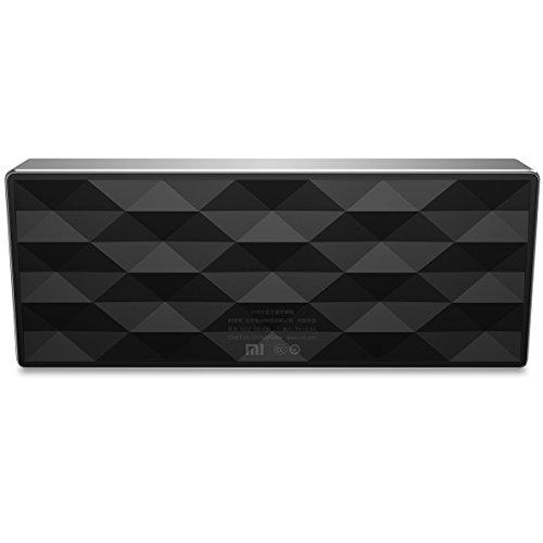 Xiaomi Square Box 10 Horas Bluetooth 4.0 Manos libres estéreo portátil Wireless Mini Bass altavoz Negro de aluminio para Xiaomi iPhone Android Teléfono