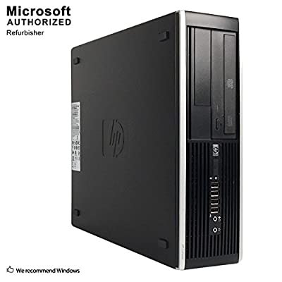 HP Flagship Pro Desktop 2018 Computer, Core I5 Up to 3.6GHz, 8GB, 512GB SSD, WiFi, DVD, DP, VGA, USB 3.0, Windows 10 Pro 64 Bit-Multi Language-English/Spanish/French(CI5) (Renewed)