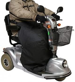 Manta cubrepiernas para scooter.