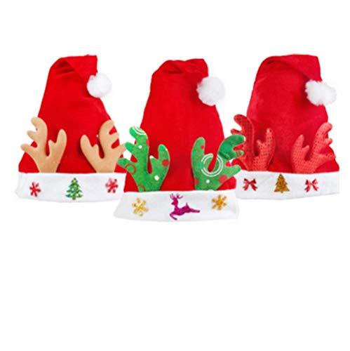 Kerstmuts, 29 X 38 Cm, Santa Hat, Kerstmuts, Kinderen Volwassen Jurk Hoofdband Headdress houlian shop-11.11