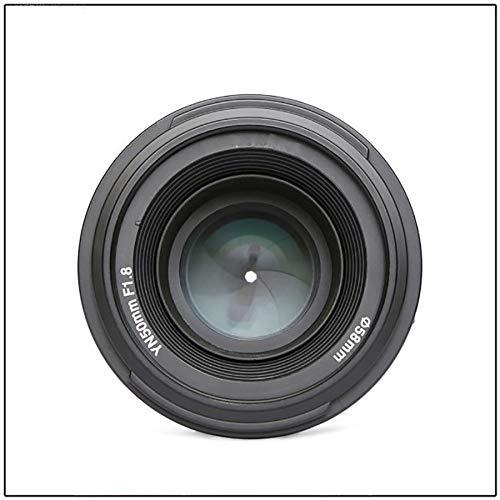 ZUEN Festfokusobjektiv Spiegelreflexkamera Porträtobjektiv Maximale Blende F1.8 Autofokus Außenaufnahme Landschaft Schwarz