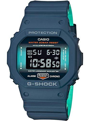 Casio G-SHOCK Reloj Digital, 20 BAR, Negro, para Hombre, DW-5600CC-2ER