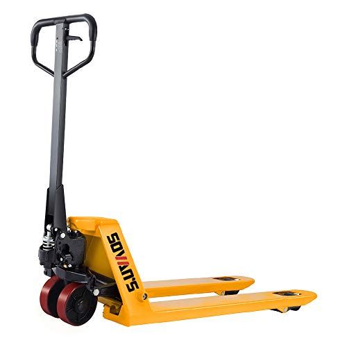 SOVAN'S【Excellent】Heavy Duty Manual Pallet Jack   7700lbs Capacity   48'Lx27'W Fork