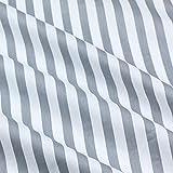 Patchwork-Stoff, 160 cm x 50 cm, Baumwolltuch, blau, grau,