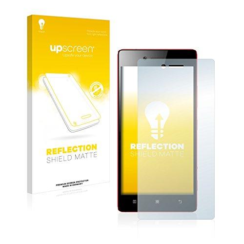 upscreen Entspiegelungs-Schutzfolie kompatibel mit Lenovo Vibe Shot – Anti-Reflex Bildschirmschutz-Folie Matt