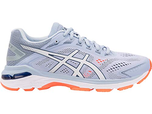 ASICS Women's GT-2000 7 Running Shoes, 11M, Mist/White