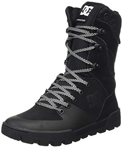 DC Shoes Damen Nadene Boot Sneaker, Black/Black, 42 EU