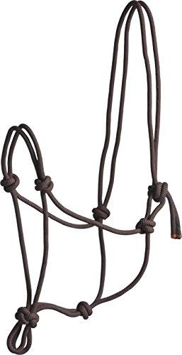Licol corde 'First' pour cheval - Brun