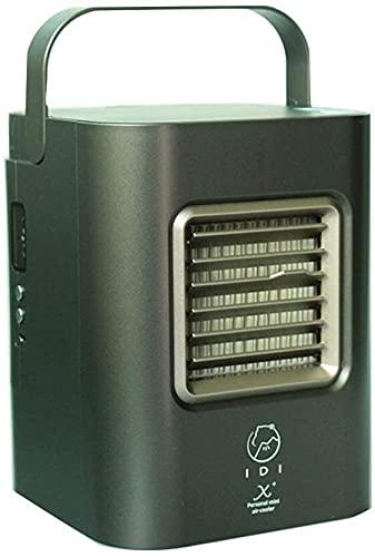Aire acondicionado móvil Acondicionador de aire refrigerado por agua con refrigeradores evaporativos de deshumidificador para hogar, pequeño refrigerador de aire portátil Enfriadores evaporativos