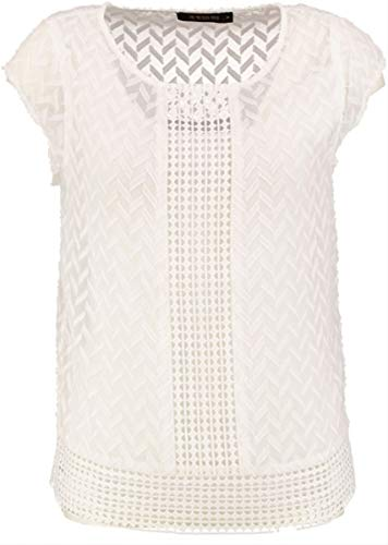 Supertrash off-wit polyester bovendeel met los luifel.
