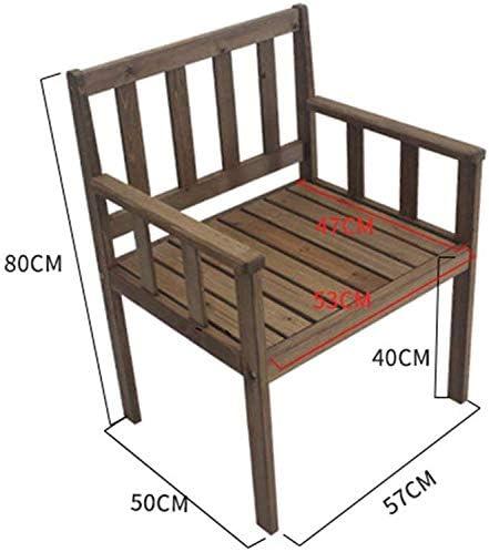 MXZBHTabouret Simple en Bois, Chaise de Salle à Manger de Salon à Domicile Chaise rétro Brown